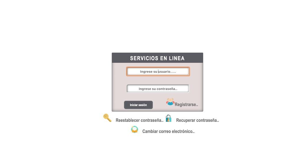 Servicios en linea del IEEPO