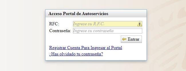 Mi Portal Autoservicios SEP: Cómo conseguir un recibo 1