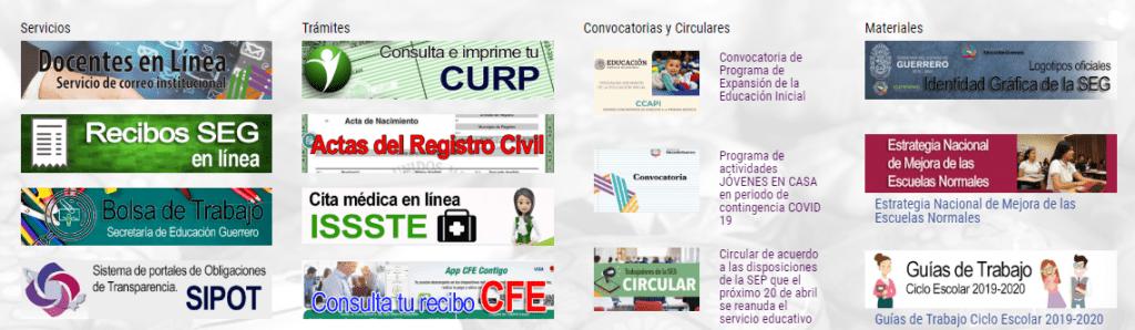 Mi Portal SEG: Secretaría de Educación de Guerrero 2